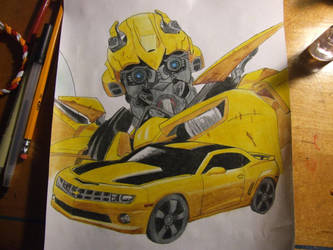 Transformers Bumblebee by SilverWolf7444