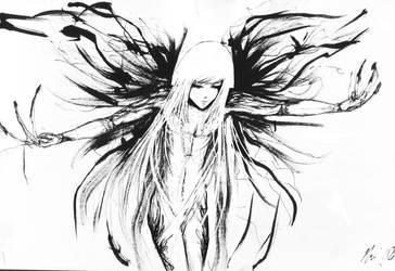 Tatooed Angel II by KurakiYori