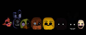 Five nights at Freddy's 2 in Ms Paint by VenomDesenhos