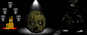 Five nights at Freddy's 3 Wallpaper Ms Paint by VenomDesenhos
