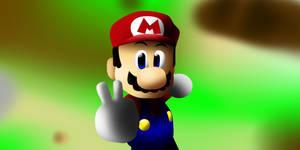 Super Mario 64 by VenomDesenhos
