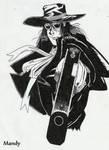 Alucard by waningmoon7