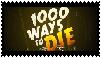 1000 Ways To Die Stamp by waningmoon7