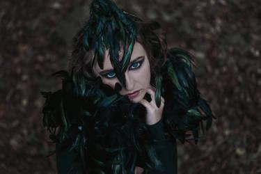 Crow #1 by Mishkina
