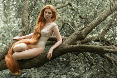 # Eve in the forest by Mishkina