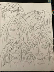 Envy Faces by ReesyTaters