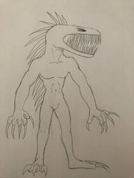 Anthro SCP-939 by ReesyTaters
