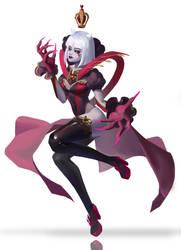 The Red Queen by blackarediris