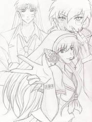 Butterfly on Your Shoulder by ForgottenHero-Rinku