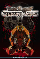 GeminiWars Cover Final by el-texugo