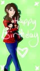 Birthday gift by Aliycial