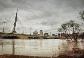 Winnipeg Flood 2009 by vkanne