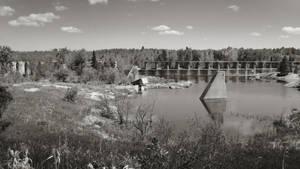 Old Pinawa Dam I by vkanne