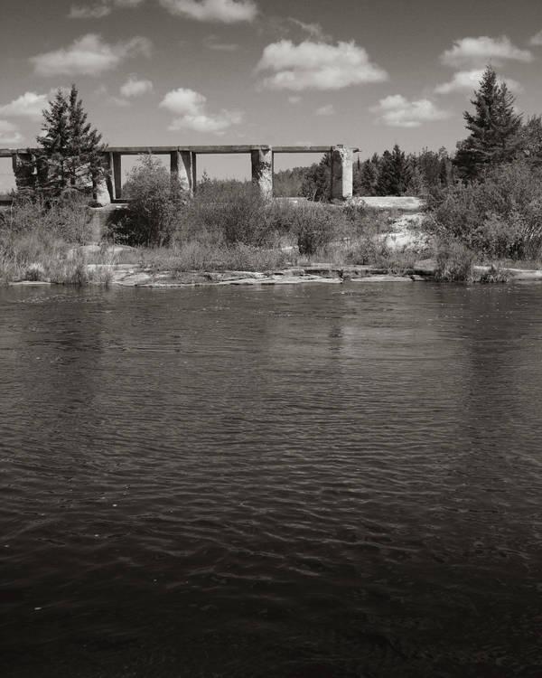Old Pinawa Dam II by vkanne
