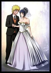 NaruHina - wedding by Arya-Aiedail