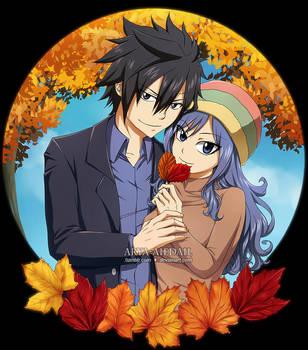 Warm Autumn by Arya-Aiedail