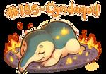 Pokemon #155 - Cyndaquil by oddsocket