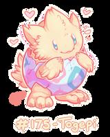 Pokemon #175 - Togepi ! by oddsocket
