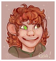 DnD NPC Portrait - Rosa by oddsocket