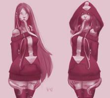 [DOODLES] Aralyn. by EmiroArts