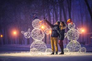 Sudden Snowfall by ShakilovNeel