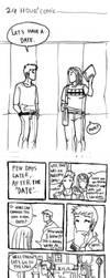 24 hours comic numero uno by jinguj