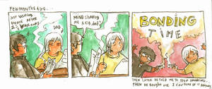 old diary doodle comic by jinguj