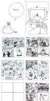 old diary comic WHAT THE FUCK by jinguj