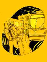 diary doodle - city walk by jinguj