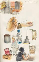 sketchbook excerpts 01 by jinguj