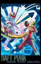 Daft Punk - Cosmic Awesome by jinguj