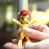 My little Pony FIM Galacon 2012 Canni Figure by Asukatze