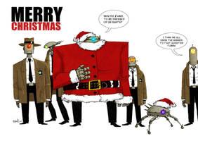 Agent Orange Christmas by darrenrawlings