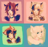 kittens by printscreen-kii