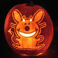 Happy Bunny by pumpkinsbylisa