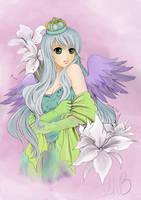 Iris coloured by lnbyoman