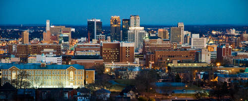 Birmingham Alabama by shayallen