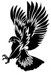 Tribal Hawk by LinkGilbs
