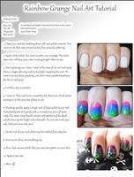 Rainbow Grunge Tutorial by Alchemical