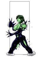 She Hulk commission 48 by Xenomrph