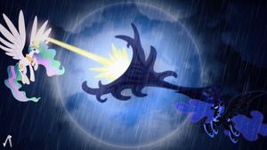 The Grand Battle by JustaninnocentPony