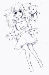 Valentines Sketch by AliensROCKS