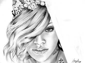 Rihanna by leighann-2468