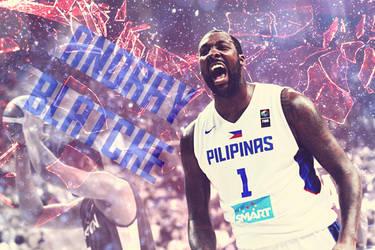 Gilas Pilipinas 'Andray Blatche' by HyomaTanzaki