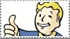 vault boy stamp by BrainBites