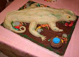 Iguana Cake 1 by studpup