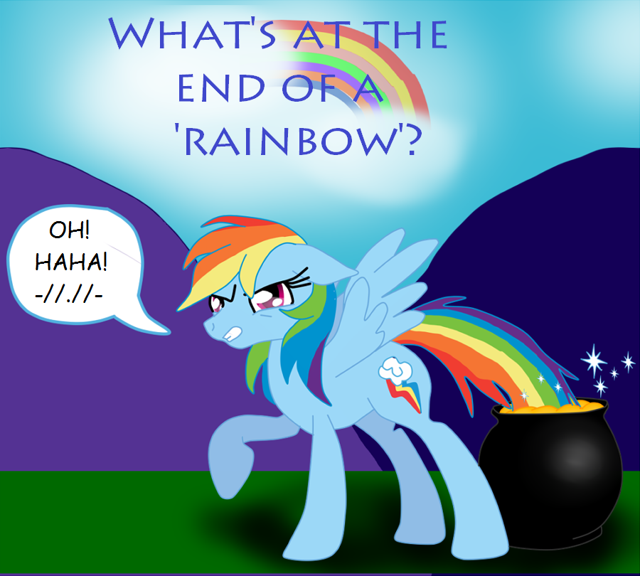 At Whats At The End Of A Rainbow By Maddysu86 On Deviantart