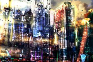 Concept city: Marsnik capitol by S0mniaLuc1d0