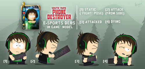 SPPD - E-Sports Ders, in-game model by hercamiam