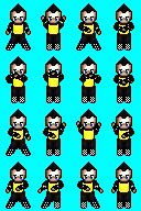 Character animation tecktonik2 by Kasbak